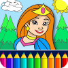 Princess Coloring Game App by Coloring Games