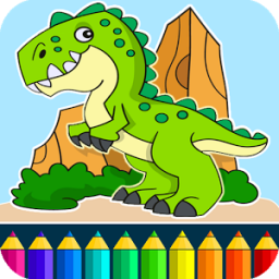 Dino Coloring Game App by Coloring Games