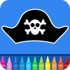 Pirates Coloring Pages App by Coloring Games