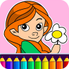 Girls Coloring Game app by Coloring Games