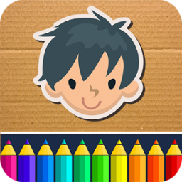 Painting game for little boys App by Coloring Games