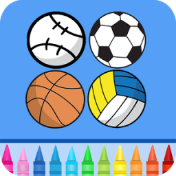 Sports Coloring Game App by Coloring Games