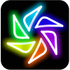 Magic Paint Kaleidoscope app by Doodle Joy Studio