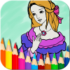 Princess Coloring Book app by Doodle Joy Studio