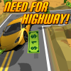 Need fo Highway: Most Wanted App by Mister Fresh Magic