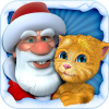 Talking Santa meets Ginger + App by Outfit7