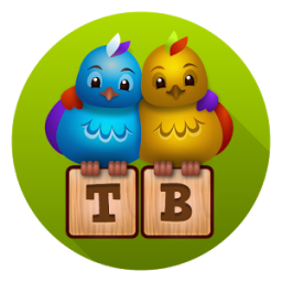 Two Birds word game App by Raketspel
