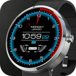 Futuristic Watch Face App by RichFace
