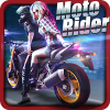 Moto Rider 3D: City Mission App by TrimcoGames
