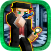 Blocky Pizzeria Five Nights App by Free Games Studio 3