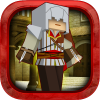 Assassin Mission Block Gun App by Free Game Studio Inc.