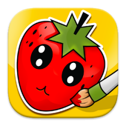 Coloring: Fruits for Kids App by Jdlope83