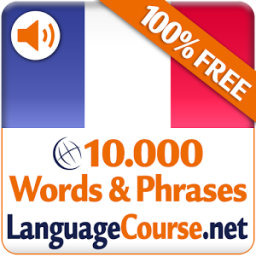 Learn French Vocabulary Free App by LanguageCourse.Net