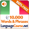 Learn Italian Words Free App by LanguageCourse.Net