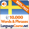 Learn Swedish Words Free App by LanguageCourse.Net