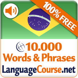 Learn Portuguese Words Free App by LanguageCourse.Net