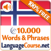 Learn Norwegian Words Free App by LanguageCourse.Net