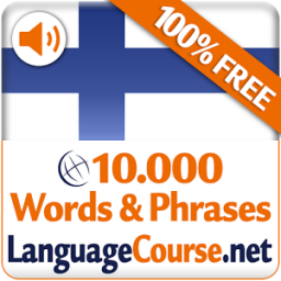 Learn Finnish Words Free App by LanguageCourse.Net