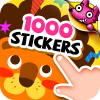 Mega Sticker Book for Kids App by SMARTSTUDY