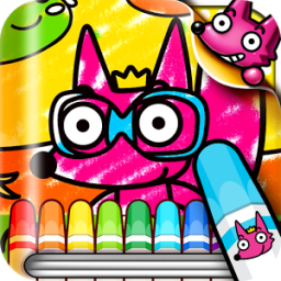 Coloring Book for Kids! App by SMARTSTUDY