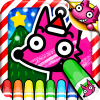 Wow! Christmas Coloring Book app by SMARTSTUDY