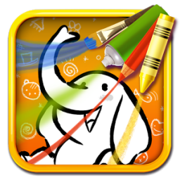 Color & Draw for kids App by Tipitap