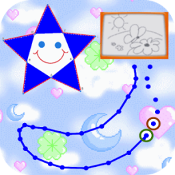Kids Dots Drawing & Coloring App by KNM Tech