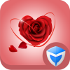 AppLock Theme - Love Roses App by Leomaster