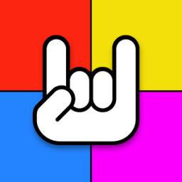 Rainbow Rock Tiles Guitar Tabs App by Turbo Chilli