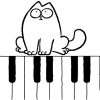 Simon's Cat Piano App by VolgaApps