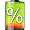 show battery percentage App by Adcoms