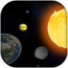 Gravity Sim 3D App by Atom Mobile Applications