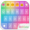 Rainbow Love Emoji Keyboard App by Colorful Design