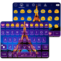 Emoji Keyboard-Paris,Emoticons App by Colorful Design