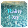 Rainy Emoji Keyboard Theme App by Colorful Design