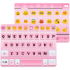 Pink Emoji Keyboard -Emoticons App by Colorful Design