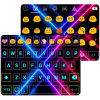 Electric Punk Emoji Keyboard App by Colorful Design