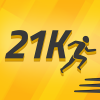 Half Marathon Training: 21K app by Fitness22