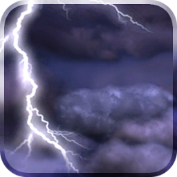 Thunderstorm Live Wallpaper App by Kittehface Software