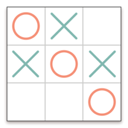 Tic Tac Toe App by Pink Pointer