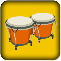 Playing the Bongos App by Your App Soft