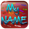 My name live wallpaper app by App Basic