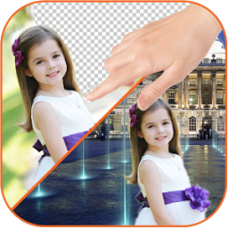 Change photo background App by App Basic