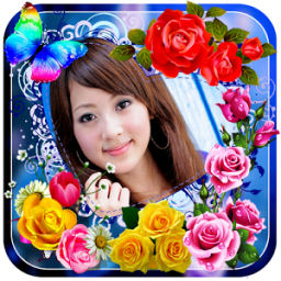 Rose Flower Photo Frames App by App Basic