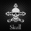 Black Skull Atom Theme App by DLTO
