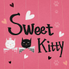Sweet Kitty Atom Theme App by DLTO