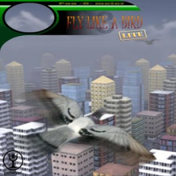 Fly like a bird 3 lite App by Gamevial