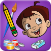 Draw & Color Chhota Bheem App by Green Gold Animation