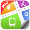 NYC Subway,Bus,Rail,Bike Maps app by 98ideas