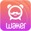 Waker: Real Voice Alarm Clock app by 98ideas